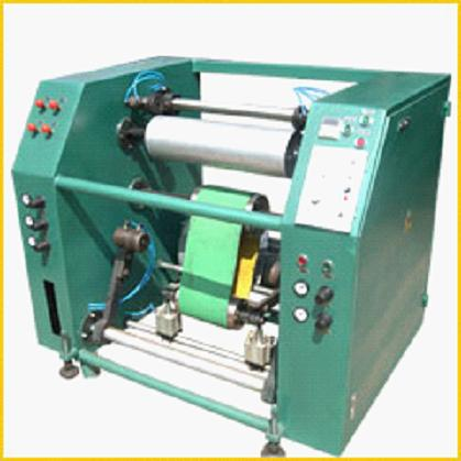 Semi automatic Stretch Film Rewinder,