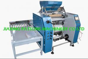 Auto stretch film rewinding machine