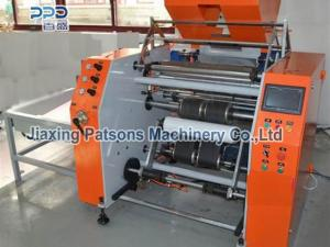 Automatic LLDPE stretch film rewinder machine