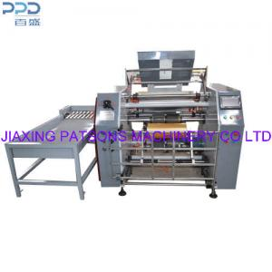 Cling film and stretch film rewinding machine