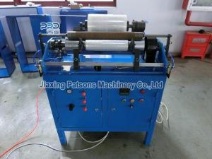 Cling film fluffy roll rewinding machine