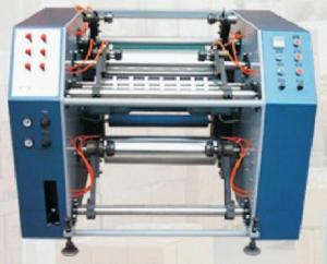 Coreless Stretch Film Slitter Rewinder