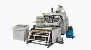 Stretch film winder machine for extrusion machine