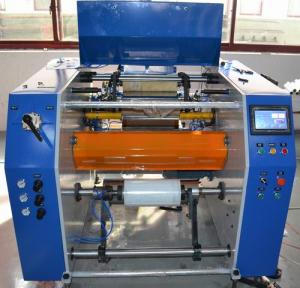 Dotted line type high speed cling wrap rewinder